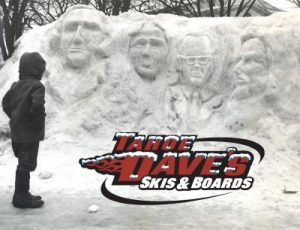 MOUNT RUSHMORE SNOW